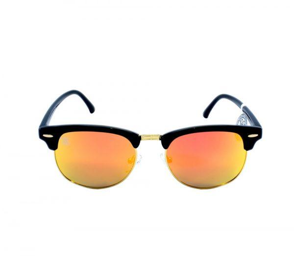 gafa de sol whitewake sixty black orange polarized frente