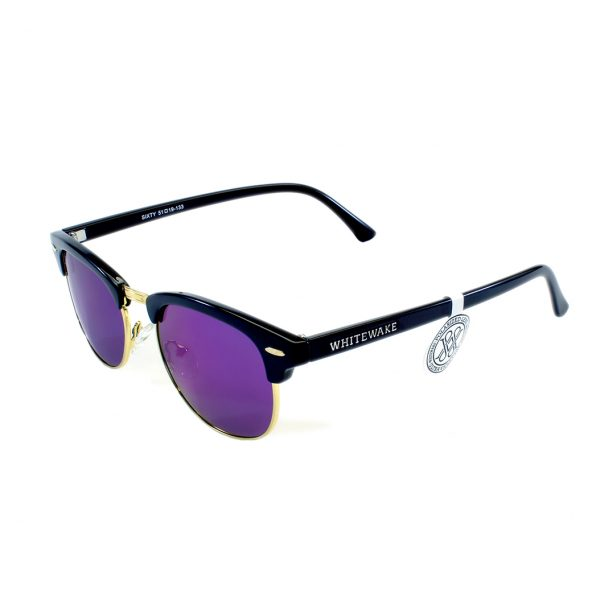 gafa de sol whitewake sixty black purple polarized