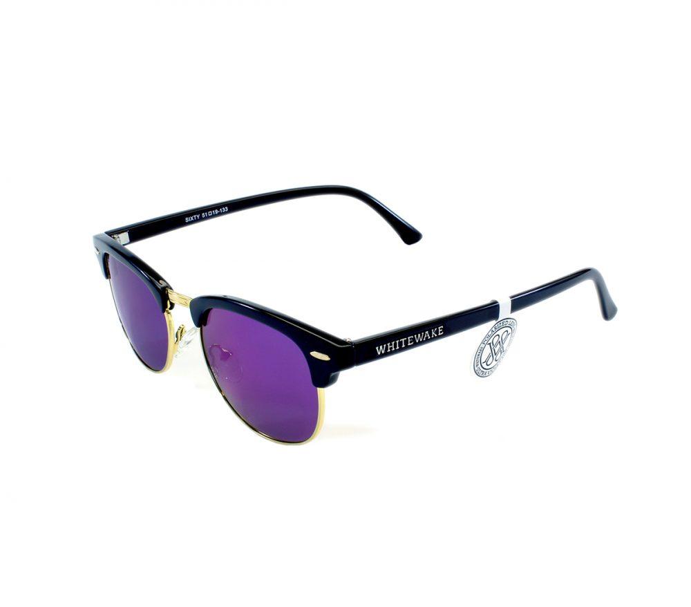 Gafa de sol Whitewake montura Black lente Purple polarizada