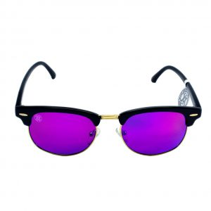 gafa de sol whitewake sixty black purple polarized frente