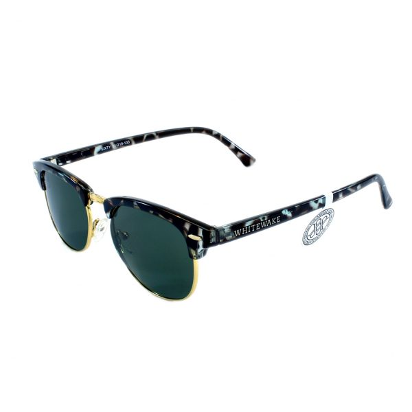 gafa de sol whitewake sixty mottle black black polarized lateral