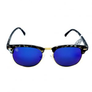 gafa de sol whitewake sixty mottle black blue polarized frente