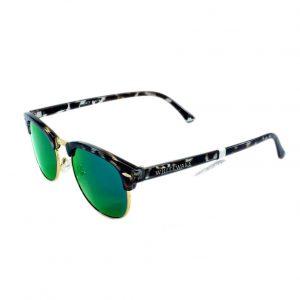 Gafa de sol Whitewake montura Mottle black lente Green polarizada