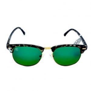 gafa de sol whitewake sixty mottle black green polarized frente