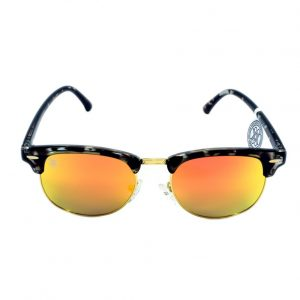 gafa de sol whitewake sixty mottle black orange polarized frente