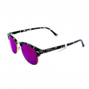 Gafa de sol Whitewake montura Mottle Black lente Purple polarizada