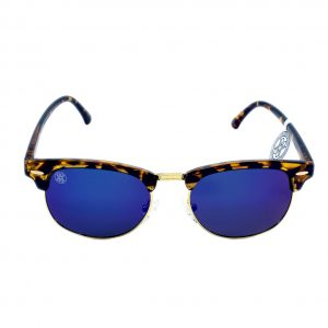 gafa de sol whitewake sixty mottle brown blue polarized frente