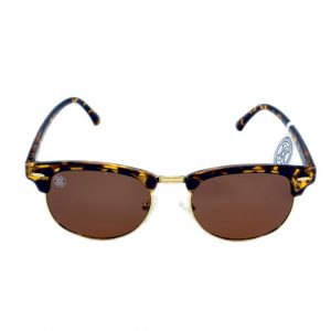 gafa de sol whitewake sixty mottle brown brown polarized frente