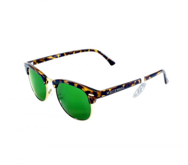 gafa de sol whitewake sixty mottle brown green polarized