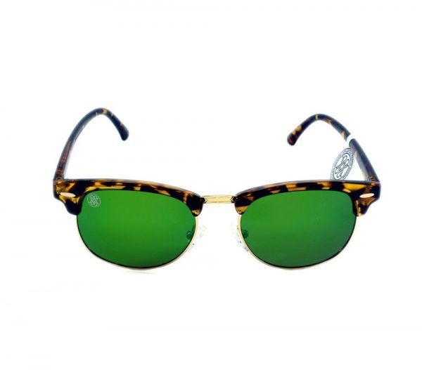 gafa de sol whitewake sixty mottle brown green polarized frente