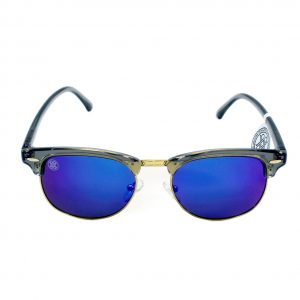 gafa de sol whitewake sixty transp gray blue polarized frente