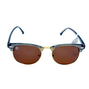 gafa de sol whitewake sixty transp gray brown polarized frente