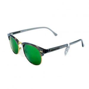 Gafa de sol Whitewake montura Transp Gray lente Green polarizada
