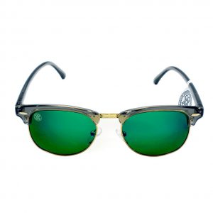 gafa de sol whitewake sixty transp gray green polarized frente