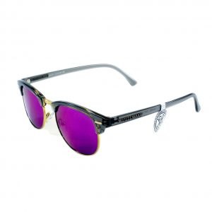 Gafa de sol Whitewake montura Transp Gray lente Purple polarizada