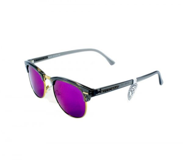 gafa de sol whitewake sixty transp gray purple polarized