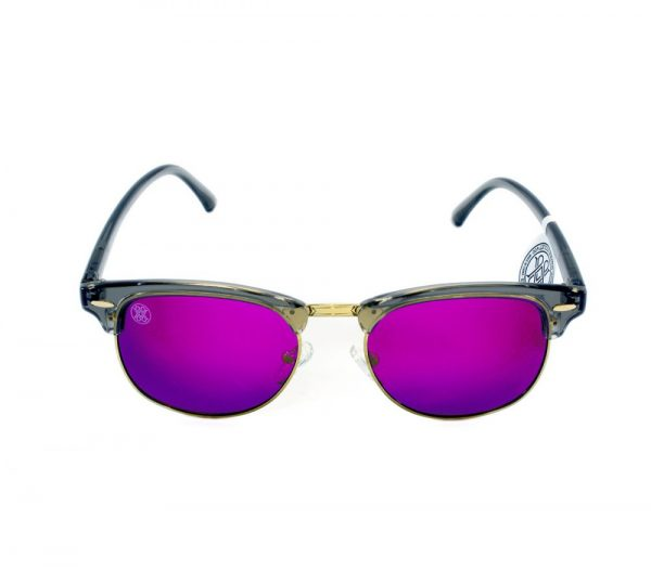 gafa de sol whitewake sixty transp gray purple polarized frente
