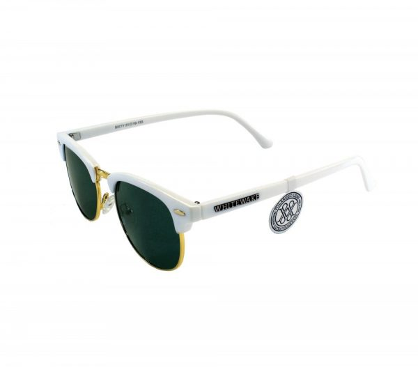 gafa de sol whitewake sixty white black polarized