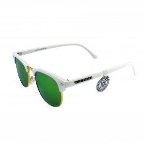 Gafa de sol Whitewake montura White - lente Green polarizada