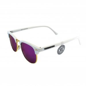 Gafa de sol Whitewake montura White - lente Purple polarizada